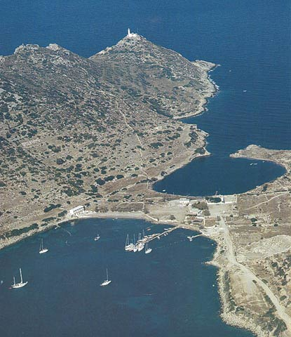 Cnidus, Knidos - the two harbours