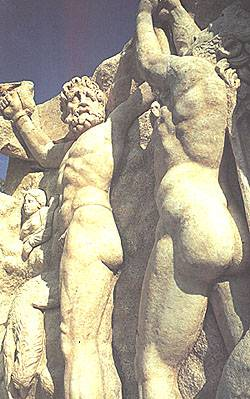 Sculptures in Aphrodisias