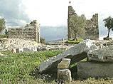 Ancient city wall of Halikarnassos /Myndus Gate