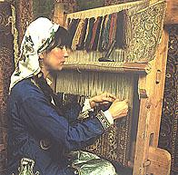 Carpet weaving in Mumcular